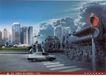 公益0035,公益,中国广告作品年鉴2006,交通 红灯 斑马线