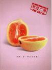 文化公共服务及其它0003,文化公共服务及其它,中国广告作品年鉴2006,橙子  切开 鲜嫩 水汁 新鲜