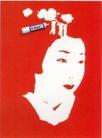文化公共服务及其它0029,文化公共服务及其它,中国广告作品年鉴2006,涂改液 美女 头像
