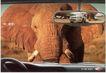 汽车及关联品0035,汽车及关联品,中国广告作品年鉴2006,反光镜 玻璃 驾驶室