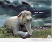 药品及保健品0037,药品及保健品,中国广告作品年鉴2006,天空 云层 石像
