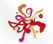 我在品牌设计0011,我在品牌设计,中国设计机构年鉴,笔墨 橙色 红色 橙黄色 乱七八糟 无序