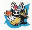 靳与刘设计顾问0015,靳与刘设计顾问,中国设计机构年鉴,动物 和睦相处 和谐 拥挤 仰头