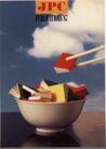 封面设计之抽象与意象0096,封面设计之抽象与意象,书籍装帧设计,饭碗 筷子 书本