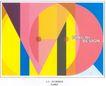 海报设计0013,海报设计,书籍装帧设计,收获 图行 构成 季节 抽象 色彩混合