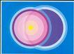 海报设计0015,海报设计,书籍装帧设计,圆圈 重合 中心点 大小 挡住 背后