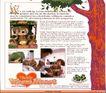 版式设计之边框分割0051,版式设计之边框分割,书籍装帧设计,爱心 布娃娃 古树