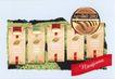 世纪之星包装作品集0169,世纪之星包装作品集,包装设计,纸封 树叶 齿纹