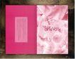 服装美容0011,服装美容,华文设计年鉴-型录卷,粉红 魅力  翻开 书页  英文