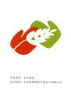 饮食0139,饮食,华文设计年鉴-形象卷,稻穗  面食 图标