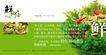 日式快餐节令菜品推介延展1,POP海报模板三,商业广告模板,蔬菜 水果 沙拉 混合 价值  品味