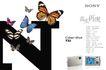 精品数码相机形象海报延展~2,POP海报模板九,商业广告模板,品牌 日本品牌 彩蝶