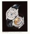 百达翡丽10,世界名表,国际招贴画设计,手表  构造  黑白相间