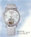 肖邦09,世界名表,国际招贴画设计,圆形手机 宝石镶嵌 白灰色