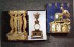 国际视觉设计平面设计0169,国际视觉设计平面设计,国际招贴画设计,古钟 人像雕塑 鸽子雕塑