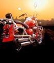 推荐摄影师0041,推荐摄影师,广东摄影年鉴2006,摩托车 交通工具 太阳