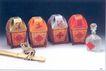 黄扬佳作品001,广东设计师作品一,广东设计年鉴2006,扁担 绳子 黑土地酒篮