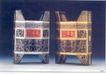 黄扬佳作品003,广东设计师作品一,广东设计年鉴2006,三千年酒 鼎式包装 红底黄字