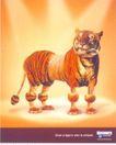 广东设计师作品三0094,广东设计师作品三,广东设计年鉴2006,老虎 猛兽
