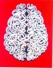 广东设计师作品三0096,广东设计师作品三,广东设计年鉴2006,大脑 人体组织
