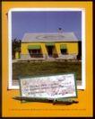 汽车0170,汽车,广告经典作品,房屋 黄色 签字笔 标签纸