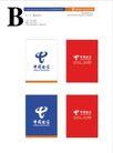 中国电信0198,中国电信,整套VI矢量素材,