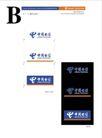 中国电信0214,中国电信,整套VI矢量素材,