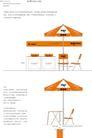 3.0 环境系统.3.0-4_1,爱国者VI,整套VI矢量素材,椅子 太阳伞 桌子