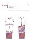 老挝航空公司0003,老挝航空公司,整套VI矢量素材,衣着 套裙 职业装