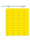 联通CDMA0031,联通CDMA,整套VI矢量素材,黄色 印刷 清样