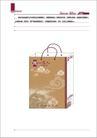 郑州一家人酒店0025,郑州一家人酒店,整套VI矢量素材,手提袋 立体图 效果图