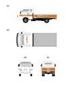 韩国现代电子0068,韩国现代电子,整套VI矢量素材,车体设计
