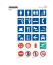 韩国道路公社0042,韩国道路公社,整套VI矢量素材,标识 符号 禁止标识