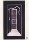 日本海报设计0039,日本海报设计,日本广告专集,门 台阶 楼梯
