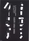 日本海报设计0045,日本海报设计,日本广告专集,脚印 方块 菱形