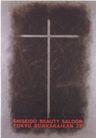 日本海报设计0060,日本海报设计,日本广告专集,广告 十字架 灰色