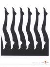 获奖作品三0058,获奖作品三,第十一届中国广告节作品,脚 腿 部 排列