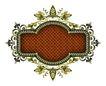 金属边框0043,金属边框,设计组件素材,