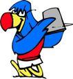 鸟类漫画0679,鸟类漫画,动物,