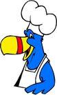 鸟类漫画0683,鸟类漫画,动物,