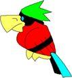 鸟类漫画0702,鸟类漫画,动物,