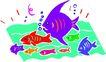 水中动物1008,水中动物,动物,