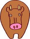 常见动物漫画1152,常见动物漫画,动物,