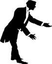 人物影子0075,人物影子,人物,一位绅士