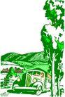农业机械与庄稼0467,农业机械与庄稼,植物,