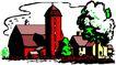 农业机械与庄稼0470,农业机械与庄稼,植物,