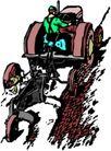 农业机械与庄稼0471,农业机械与庄稼,植物,