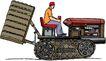 农业机械与庄稼0476,农业机械与庄稼,植物,