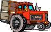 农业机械与庄稼0477,农业机械与庄稼,植物,
