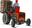 农业机械与庄稼0478,农业机械与庄稼,植物,